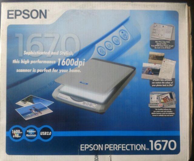 EPSON PERFECTION 1670 DRIVER PC