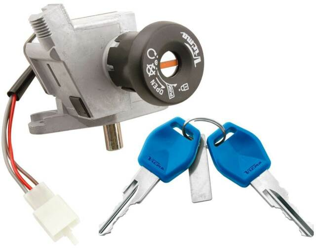 Lock, key contact