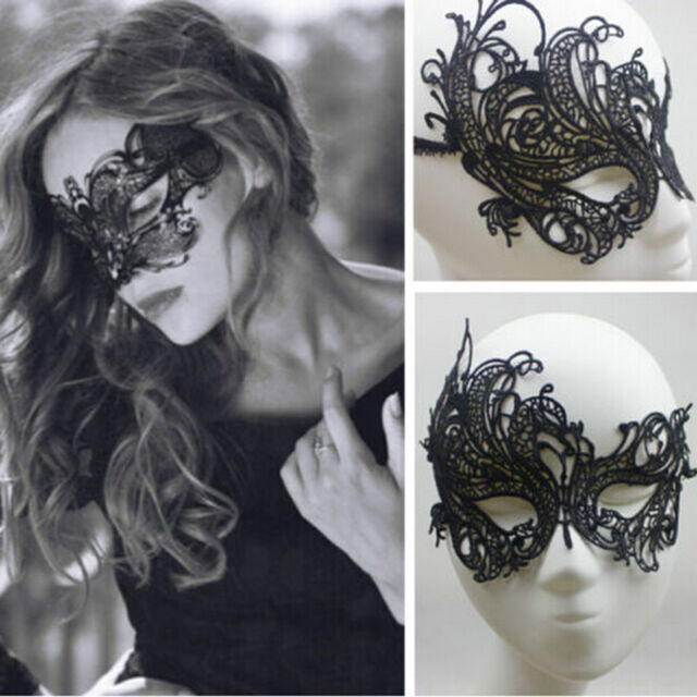 Sexy Lace Eye Mask Venetian Masquerade Halloween Party Fancy Dress Costume AA22