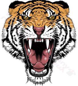 Tiger Head Roaring Tattoo Design T Shirt Women Mens S M L Xl 2xl 3xl