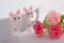 Coniglio-Coniglietto-Orecchini-a-Farfalla-Animale-in-Bambini miniatura 2