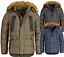 Indexbild 1 - Geographical Norway Herren Winter Jacke FVSX Parka warm gefüttert Steppjacke NEU