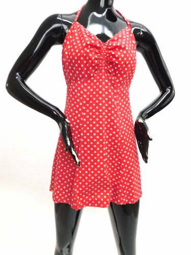 Vintage early 1950s star print Playsuit - image 1