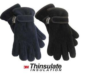 NEW Childrens Kids Boys Girls 3M Polar Fleece THINSULATE Thermal Winter Gloves