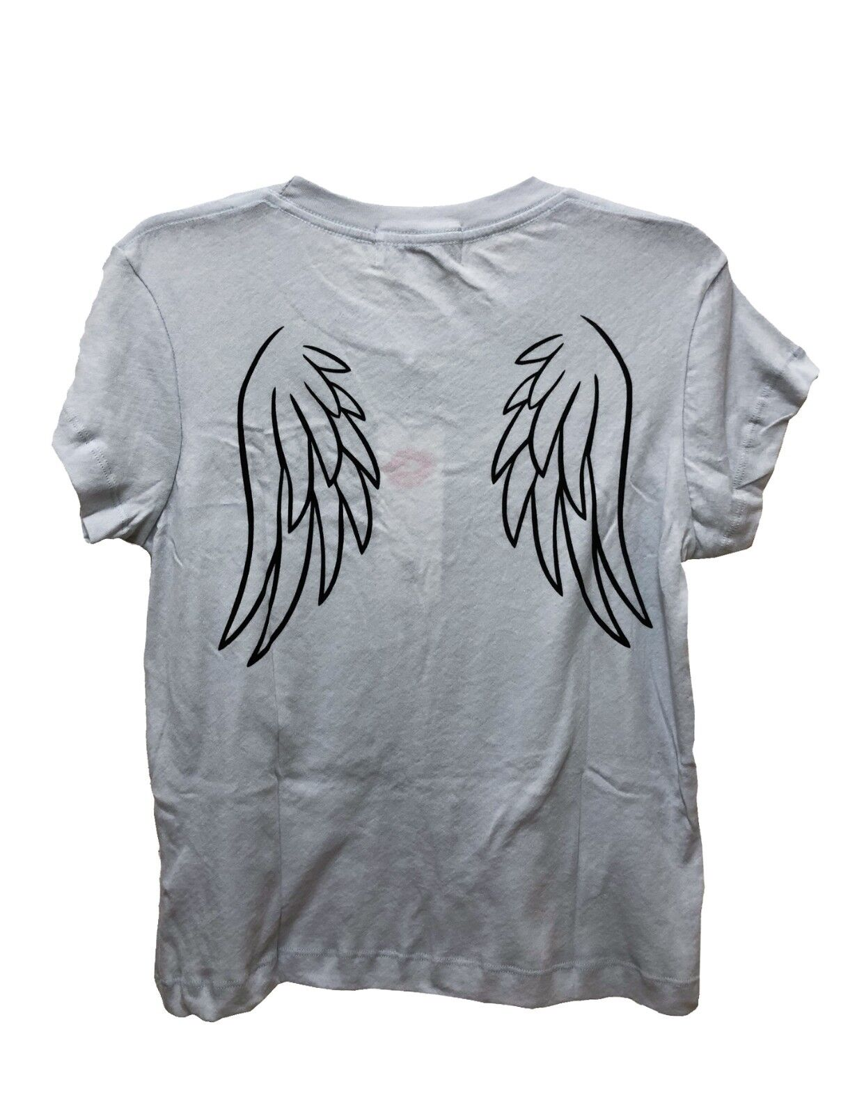 Wildfox Couture damen Angel Baby Wing Vintage Blau T-SHIRT Tee Top XS S M L