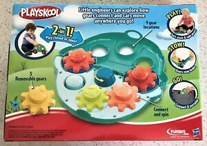 Playskool-Roll-Gears-Car-Ages-2-New-Toy-Play-Boys-Girls-Gift-Hasbro-Play-Stow
