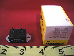 Philips-ECG-RLYB7280-Solid-State-Relay-SPST-240v-ac-7a-Input-5v-dc-RLY-B7280-New