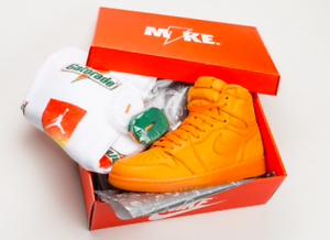 3e1783f37e81 Nike Air Jordan Retro I 1 HIGH OG GATORADE Orange Peel AJ5997-880 ...