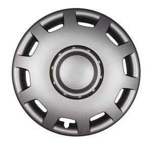Copricerchi-Ornamentali-034-Granit-034-16-Pollici-49-in-Grafite-Grigio-4x-Premium