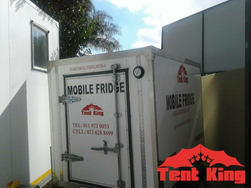 Mobile Fridge, Mobile Chiller, VIP Toilets and Portable Toilets For Hire