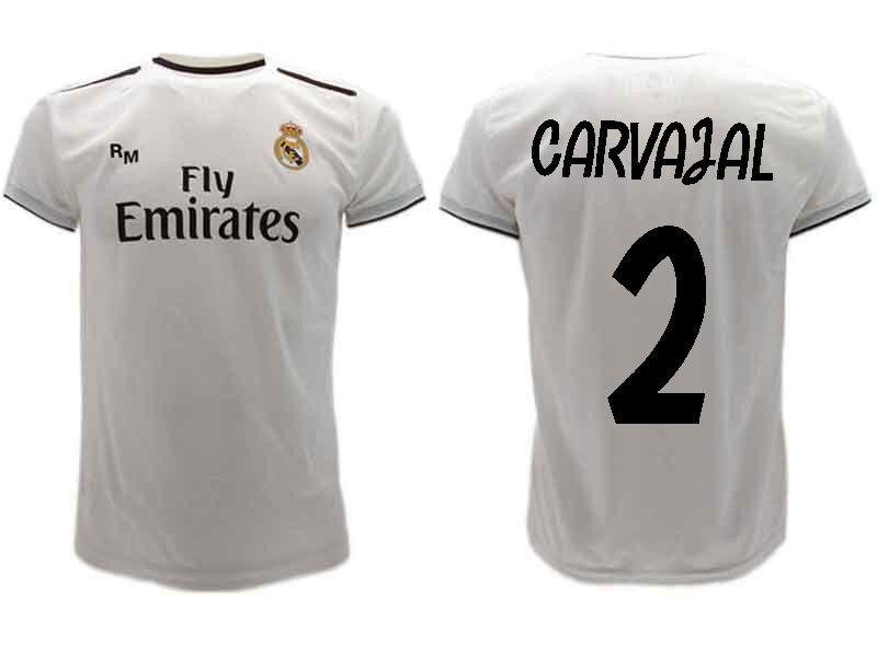 Maglia  Ufficiale CocheVAJAL  Real Madrid DANIEL  Ufficiale n.2 Camiseta 2019  Envío rápido y el mejor servicio