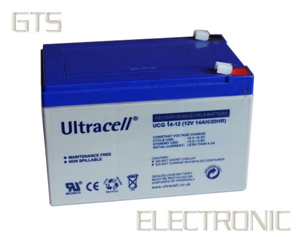 ULTRACELL ULTRACELL ULTRACELL BLEIAKKU 12V 14A DEEPCYCLE-GEL-SERIE BLEI-AKKU 12VOLT 14AH 12 V 14 A  | Elegante und robuste Verpackung  310222
