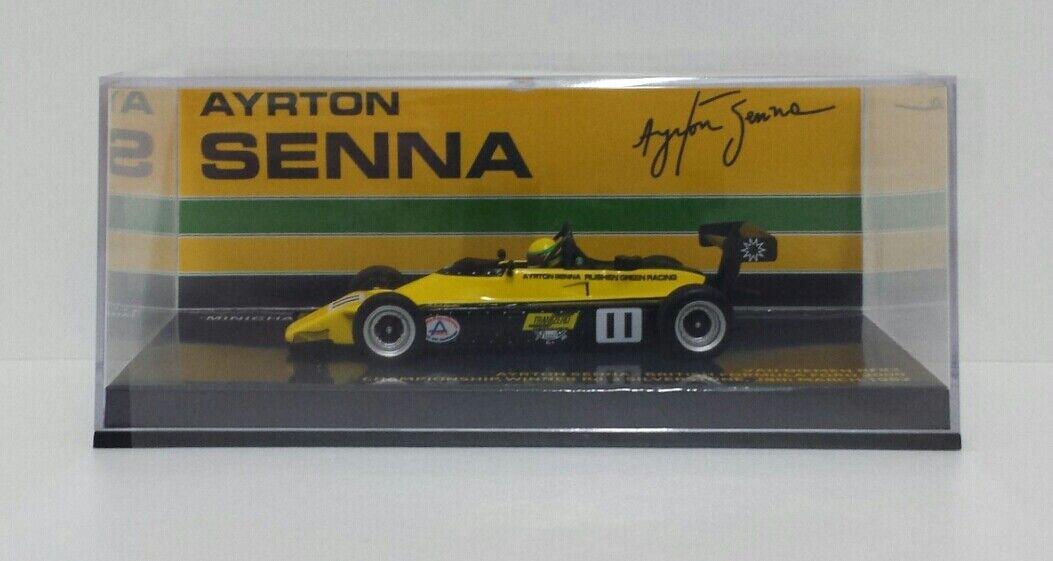 Minichamps 1 43 Model voiture Formula  ff2000 Van DieHommes rf82 Ayrton Senna 1982  offres de vente