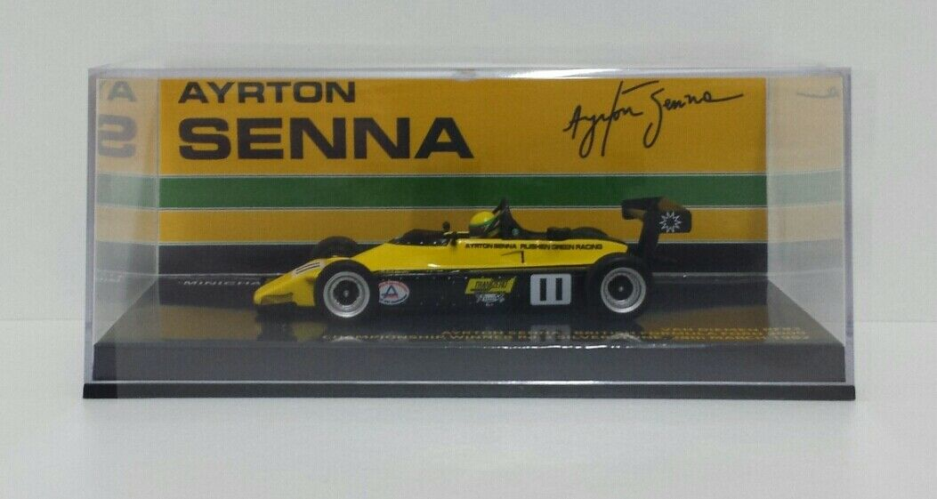 Minichamps 1 43 Model Car Formula FF2000 Van Diemen RF82 Ayrton Senna 1982