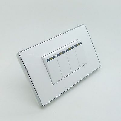 sourcing map Wall Switch Box Electrical Outlet Surface Mount Cassette 2 Gang 2pcs