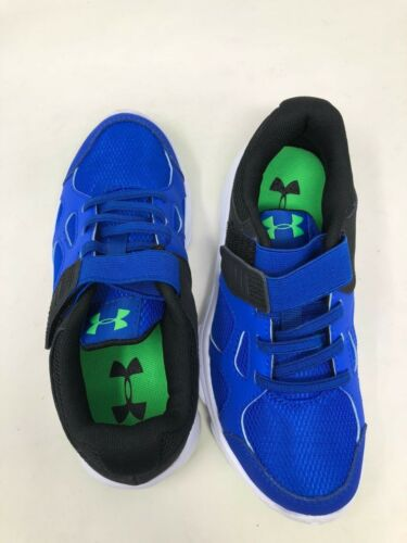 Boys youth Under Armour Preschool Pace Run AC 1272294-400  Blue  10T New!