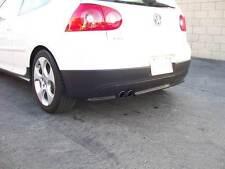 2006-2009 VW GOLF GTI 5 V MK5 CARBON FIBER REAR BUMPER DIFFUSER SPOILER COVER