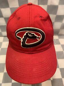 Arizona-Reverso-Diamantes-Beisbol-MLB-Ajustable-Youth-Bola-Gorra-Sombrero