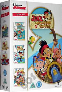 Jake-And-The-Never-Land-Pirates-BOXSET-Walt-Disney-Neverland-Kids-Film-3-DVD-New