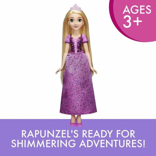 Full Set Doll Skirt Tiara and Shoes-NEW Disney Princess Rapunzel Royal Shimmer