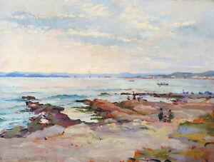 Raphael-PINATEL-1875-1933-MARINE-MARSEILLE-PROVENCE-IMPRESSIONNISME