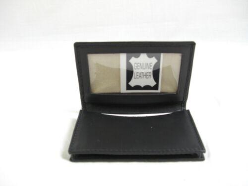 ID holder it126 licence BMW logo Black Leather wallet credit card size