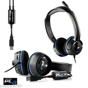 Image is loading NEW-Turtle-Beach-Ear-Force-PLa-Gaming-Headset- 100b28cf771d