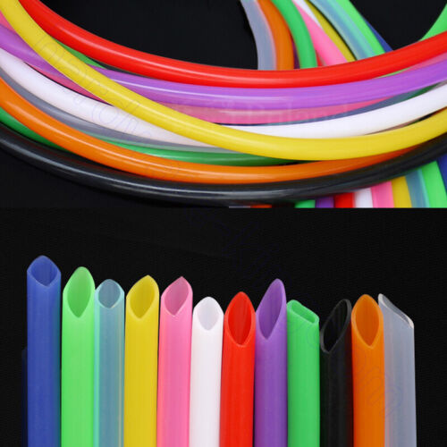 Food Grade Silicone Tube 1 mm 25 mm Tubing Flexible Beer Brew Hose Pipe Black