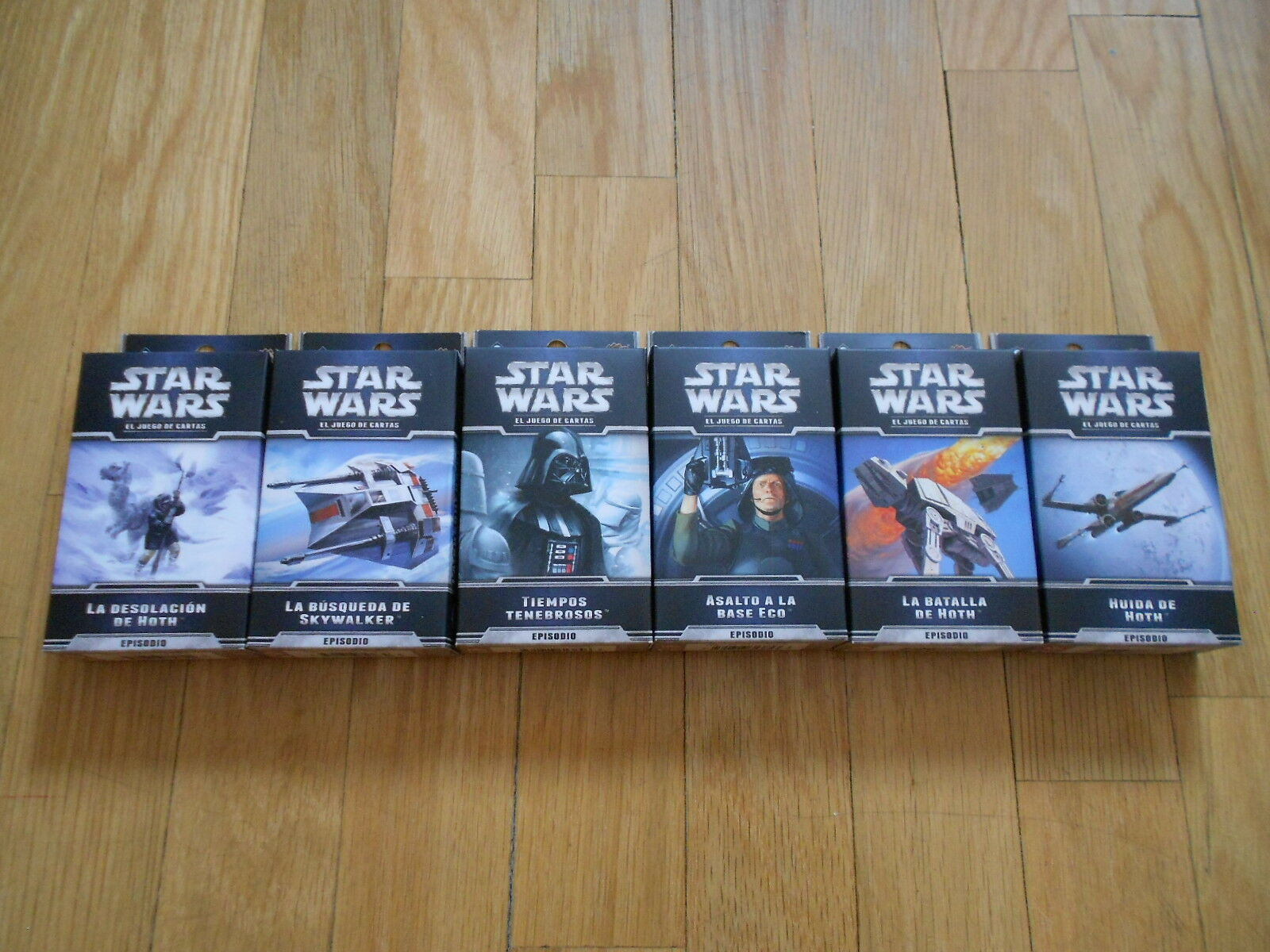 Game Letters Star Wars LCG - - - El Cycle of Hoth - Complete - Edge - Ff bd3