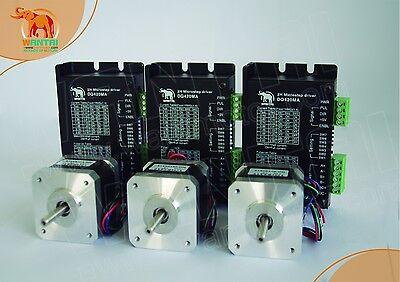 Stepper motor driver DM420A for nema17 12-36VDC 2.83A 128Micostep Bipolar