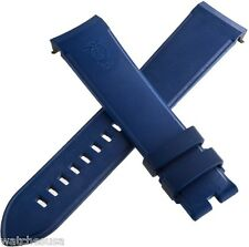 Genuine Arnold & Son Blue Rubber Silicone Strap Band 22mm x 20mm