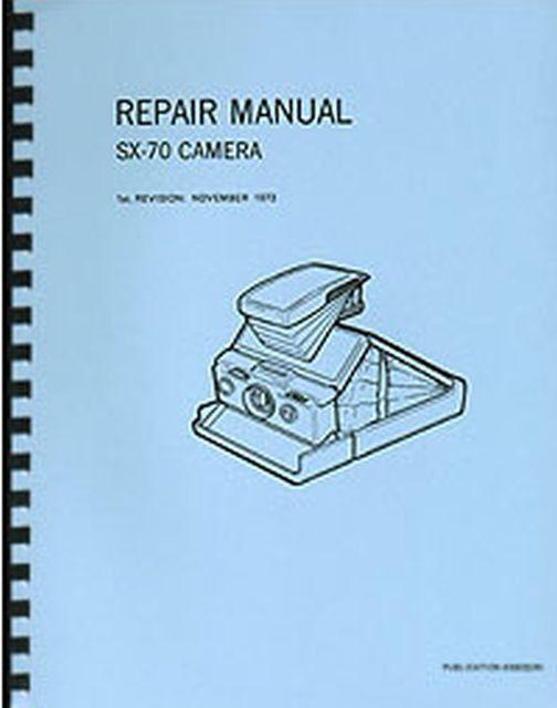polaroid sx 70 repair manual open source user manual u2022 rh dramatic varieties com polaroid service manual polaroid sx-70 service manual