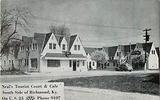 A View of Neal's Tourist Court & Cafe, U.S. 25, Richmond KY