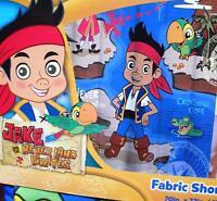 Disney Jake And The Neverland Pirates Treasure Map Bath Fabric Shower Curtain