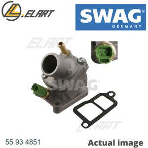 ENGINE COOLANT THERMOSTAT FOR VOLVO V70 II SW B 5234 T3 B 5244 T3 B 5204 T5 S60