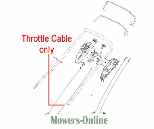 Weibang Legacy Throttle Cable GM56F030000040 56 Pro Lawnmower 56Pro