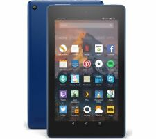 AMAZON Fire 7 Tablet with Alexa (2017) - 8 GB, Marine Blue - Currys