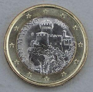 1 Euro Kursmünze San Marino 2017 Unz-afficher Le Titre D'origine Pour Effacer L'Ennui Et éTancher La Soif
