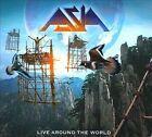 Live Around the World [Digipak] by Asia (Rock) (CD, Jul-2010, 2 Discs, Rokarola Records)