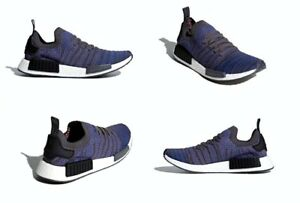 789f03f21 Adidas NMD R1 STLT PK Shoes Blue   Black   Coral Mens Size 11.5 US ...