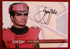 CAPTAIN SCARLET - Gary Files, Captain Magenta, Autograph Card - Unstoppable GF1
