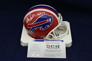 Andre-Reed-Signed-Autographed-Buffalo-Bills-Mini-Helmet-W-HOF-14-SCH-Authentic