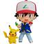 GOOD SMILE Nendoroid 800 Pokemon Satoshi /& Pikachu Figure