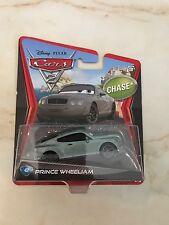 CARS 2 Disney Pixar #42 PRINCE WHEELIAM 2012 Scale 1:55 DIECAST Rare CHASE