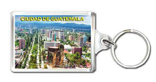 CIUDAD DE GUATEMALA KEYRING SOUVENIR LLAVERO