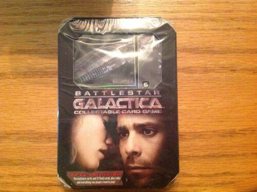 Battlestar Galactica CCG. 62 card starter set. For Two Players