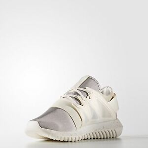 buy online e1262 fd507 Image is loading ADIDAS-Tubular-Viral-Chalk-Running-Shoes-Sneakers-Size-