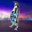 Crystocraft-Penguin-Crystal-Ornament-With-Swarovski-Elements-Gift-Boxed-Blue thumbnail 5