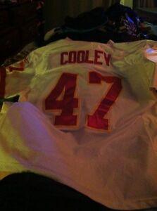 Authentic-Washington-Redskins-reebok-Cooley-jersey-size-52