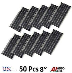 50-x-Pneumatico-senza-Camera-D-039-Aria-Kit-Riparazione-20-3cm-Strisce-Spina-Auto